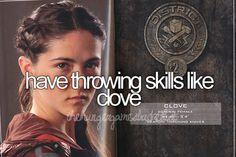 I do wanna learn to throw knives tho:)