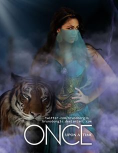 so first its emma comes to storybrooke then magic then frozen then wicked then merlin, and now jasmine