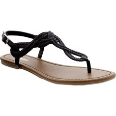Old Navy Womens Braided Loop Sandals ($20) ❤ liked on Polyvore