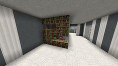 Minecraft shelves