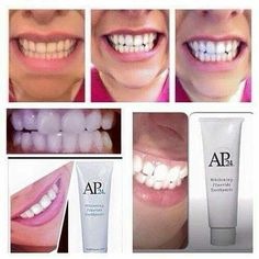 Forget laser whitening this whitening toothpaste will brighten up any body's smile Ap 24 Whitening Toothpaste, Teeth Whitening Procedure, Whitening Fluoride Toothpaste, Best Teeth Whitening, Nu Skin, Teeth Care, Skin Care, Spa Facial, Anti Aging