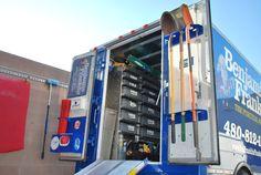 Service Truck Organization Racks
