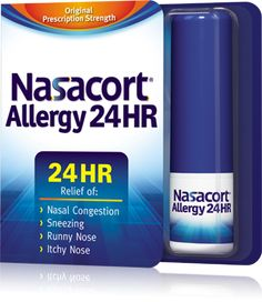 I am allergic to dogs, cats, mould, air, you know, pretty much everything.  This medication has changed my life.  <3   Over-the-Counter Nasal Allergy Spray | Nasacort®