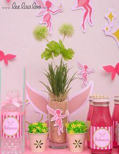 "Photo 1 of 45: Fairy / Fairytale / Tinkerbell / Birthday ""Fairy Birthday Party"" | Catch My Party"