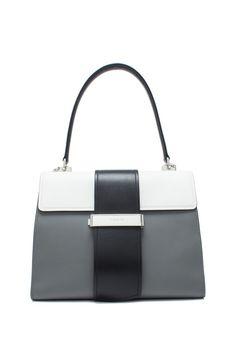 Prada - Prada City Calf Metal Ribbon Bag Calves 100787d6be556