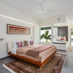 Contemporary Bedroom by josh wynne construction