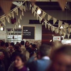 neighbourgoods market / SNAPSHOTS / We ♥ Real Beer Festival Beer Festival, Photo Wall, Marketing, Frame, Happy, Projects, Crafts, Decor, Picture Frame