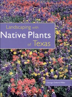 Landscaping With Native Plants of Texas - George Oxford Miller - Google Books Landscaping Rocks, Texas Landscaping, Small Yard Landscaping, Luxury Landscaping, Landscaping Company, Landscaping Plants, Native Plants, Lawn And Garden, Backyard Garden Landscape