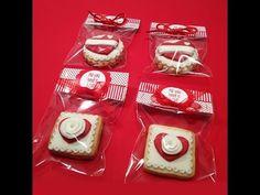 ▶ Cómo envolver galletas decoradas para fiestas. Tutorial fácil para empaquetar galletas. - YouTube