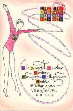 Graceful Envelope Contest 2010 Rosalee Anderson