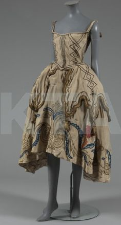 original costume from Diaghilev's Ballets Russes, circa 1920s