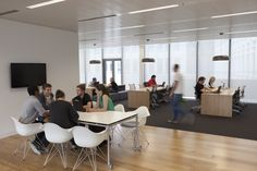 Tour Mindshare's New Collaborative London Offices - Office Snapshots