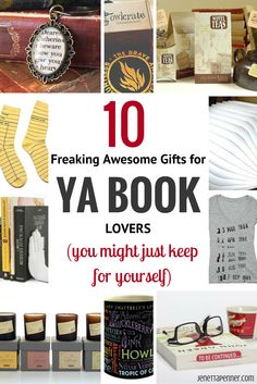 10 Freaking Awesome Gifts For YA Book Lovers (that You Might Just Keep For  Yourself