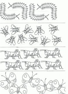 Insects Worksheets,Kids Printable Activities,Insects