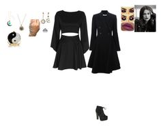"""""""Sun and Moon witch"""" by mercy-kyle on Polyvore featuring Exclusive for Intermix, Breckelle's, Bling Jewelry, LORAC, Edie Parker and Givenchy"""