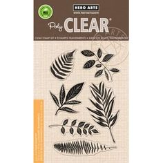 Hero Arts Clear Stamps STAMP YOUR OWN PLANT CL834