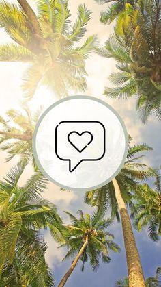 Instagram Logo, Instagram Story, Beach Icon, Insta Icon, Summer Feeling, Instagram Highlight Icons, Logo Sticker, Story Highlights, Cat Tattoo