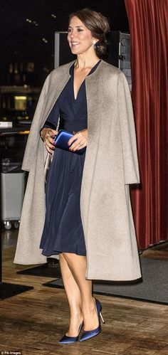 The 45-year-old wore the same wrap dress to an event for World Cancer day in February 2016 (pictured)