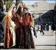 Folk costumes from Palestine