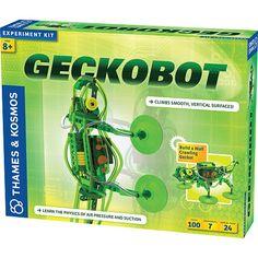 "Thames & Kosmos Geckobot Wall-Climbing Robot - 100 Piece - Thames & Kosmos - Toys ""R"" Us"