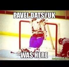 Datsyuk was here