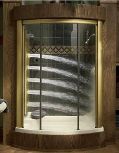 I don't understand why you would want to shower this way.