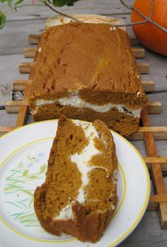 Pumpkin & Cream Bread - I'm gonna eat the shit out of this in the fall. It's too bad my girlfriend isn't a fan of anything pumpkin flavoured.