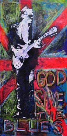 Joe Bonamassa, god save the blues