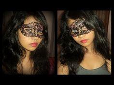 Lace Masquerade Masks DIY. For spring awakening. Not a mask but some sort of design