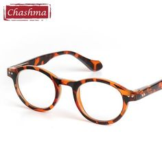 3640fb18a7 Chashma Retro Style Optical Glasses High Quality Eyewear Vintage Leopard Glasses  Frame Round Reading Glasses