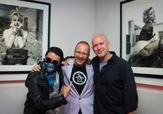 Alec Monopoly, Benoit Racle and Richard Corman at W Mexico City #WHappenings