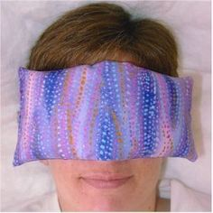 How to Make a Flax Seed & Lavender Face Pillow