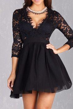 Audrey Lace Dress – Fashion Effect Store