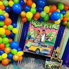 Photo Backdrops and More by KaleighsCreationss Prince Party Theme, Fresh Prince Theme, Prince Birthday Theme, Birthday Themes For Boys, Birthday Party Tables, Baby Boy Birthday, Birthday Ideas, Baby Shower Deco, Boy Baby Shower Themes
