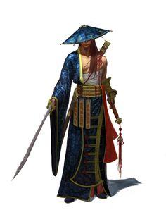 sword master, yongbin lee / dylan on ArtStation at https://www.artstation.com/artwork/0amg8
