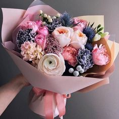 New flowers gift ideas bouquets floral arrangements 17 Ideas – Bouquet Of Sunflowers Bouquet Cadeau, Gift Bouquet, Amazing Flowers, Pink Flowers, Beautiful Flowers, Bouquet Of Flowers, Pink Roses, Flowers Bunch, Flowers Vase