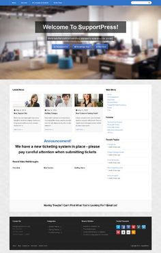 SupportPress, WordPress Responsive Knowledge Base Theme