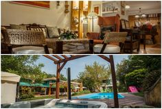 rosinante Pergola, Outdoor Structures, Patio, Places, Outdoor Decor, Home Decor, Decoration Home, Terrace, Room Decor