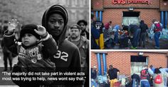 28 Moments That Show Another Side Of The Baltimore Riots