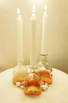 Art of Patrón: Gold Dipped Bottles