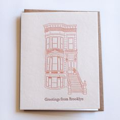 Brownstone Note Cards