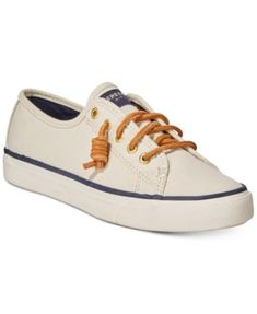 05df78e2369 Sperry Women s Seacoast Canvas Sneakers Shoes - Sneakers - Macy s