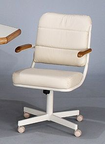 Chromcraft Furniture C318 788 Sweivel Tilt Caster Arm Chairs Available At  Www.dinetteonline.