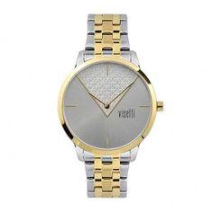 Γυναικείο ρολόι Visetti La Vedette Series PE-491SGI Stones And Crystals, Watches, Accessories, Showgirls, Clocks, Clock