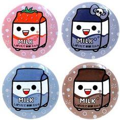 Milk Art, Japanese Gifts, Kawaii Wallpaper, Kawaii Art, Cute Characters, Chibi, Doodles, Stationery, Presents