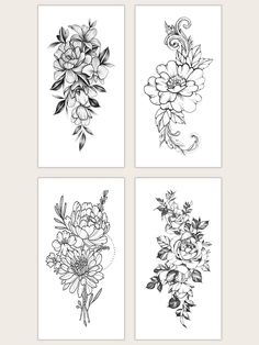 To find out about the Floral Waterproof Tattoo Sticker at SHEIN, part of our latest Tattoos ready to shop online today! Tattoos For Women Flowers, Tattoos For Women Half Sleeve, Small Flower Tattoos, Arm Tattoos For Women Forearm, Half Sleeve Tattoos Drawings, Flower Tattoo Drawings, Hand Tattoos, Rose Tattoos, Feather Tattoos