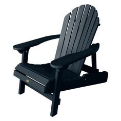 Outdoor Highwood USA Hamilton Folding and Reclining Adirondack Chair - AD-CHL1-FBE