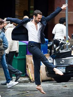 Benjamin Millepied Dances In The Street - The Frisky