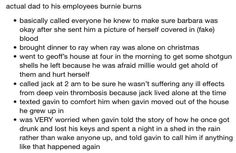 Burnie Burns being a fatherly figure to all his employee children. Such a great dad