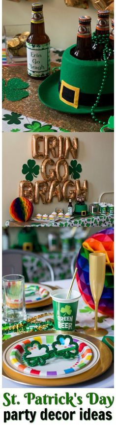Celebrate St. Patrick's Day with these party decor tips and ideas!